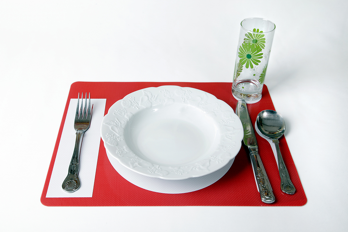 Place Setting Mat For Dementia