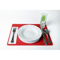 Platzmat - Red
